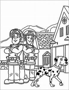 13 best fireman sam coloring pages images on