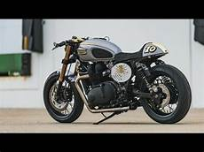 Triumph Bonneville Custom Cafe Racer By Analog Motorcycles