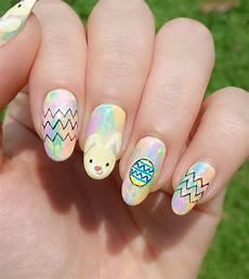 easter bunny nail art jolene tay