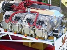 flat eight engine
