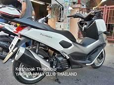 Modifikasi Yamaha Nmax 155 by Modifikasi Yamaha Nmax 155 Pakai Knalpot 250 Fi