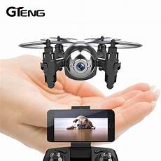 gteng t906w fpv mini drone with hd quadcopter rc