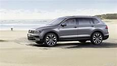 Volkswagen Tiguan Allspace Highline - 2018 volkswagen tiguan allspace highline 4motion side
