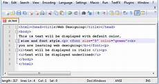 how to design amazing web pages using basic html 171 forward computing