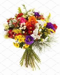 Colorful Flowers Bunch Photos Creative Market