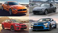 inexpensive sports cars the best cheap sports cars of 2017 the