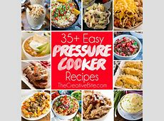 Easy Electric Pressure Cooker Recipes {Instant Pot}