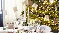 decoration de table pour noel 2018
