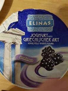 Griechischer Joghurt Kalorien - elinas joghurt nach griechischer brombeere kalorien
