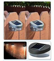 12 solar power powered door fence wall lights led outdoor garden shed lighting ebay