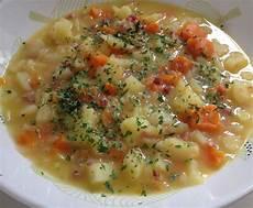 kartoffeln kochen thermomix kartoffelsuppe mit leckeren st 252 cken rezept suppe