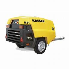 compresseur de chantier kaeser m31 pe