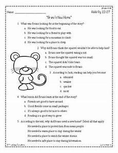 comprehension worksheets 18231 wonders third grade 3rd grade comprehension unit 1 week 1 tpt