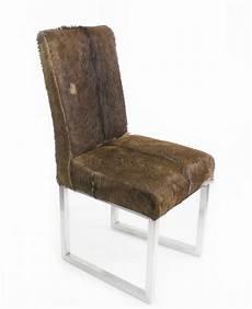 stuhl mit fell stuhl mit echtem fell der tischonkel vianova project