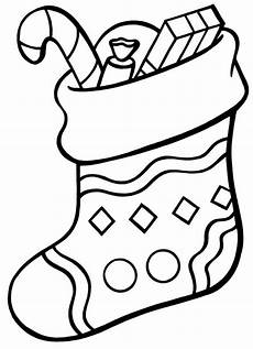 awesome christmas stocking coloring pages to motivate to color plain christmas stocking coloring