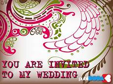 You Are Invited For My Wedding wedding e cards you are invited to our wedding