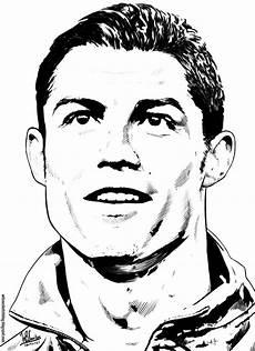 cristiano ronaldo drawing at getdrawings free