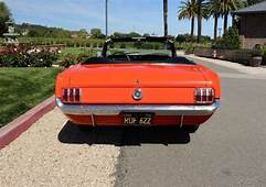 1965 MUSTANG CONVERTIBLE ONE OWNER SINCE NEW GARAGED LOW