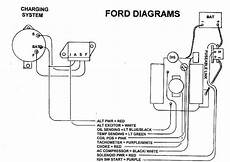ford external voltage regulator diagram alternator blues confusion page 2 ford truck enthusiasts forums