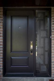 Single Door Doors by Single Steel Door With A Sidelite With Modern Lasercut