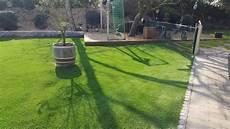 kunstrasen de kunstrasen green picasso auf 240qm f 252 r den garten