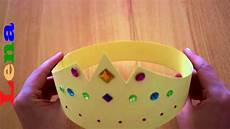 prinzessinnen krone basteln aus papier how to make a