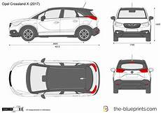 crossland x dimensions opel crossland x vector drawing