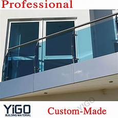 glas balkongeländer rahmenlos outdoor glass balcony railing balustrade buy glass
