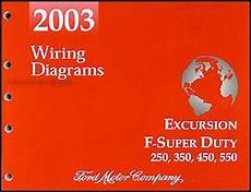 2003 Ford Excursion F Duty 250 350 450 550 Wiring