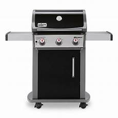 weber spirit e 310 3 burner propane gas grill in black