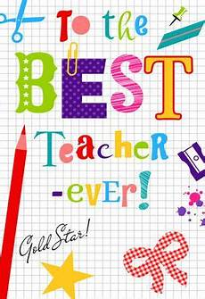 thank you card for teachers template 25 awesome teachers appreciation cards with free