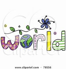 the colorful word world with the earth as the o posters art prints by prawny interior wall