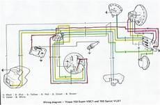 Circuit Wiring Vespa 150 Vbc1 And 150 Sprint Vlb1