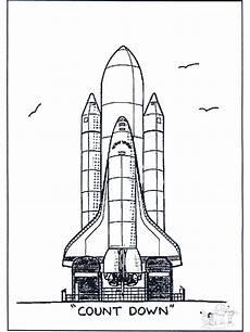 ausmalbilder raketen und weltall ausmalbilder