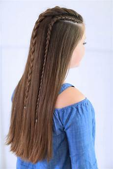 lace braid combo cute hairstyles