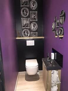toilette original deco wc made in moi wc suspendu peinture prune leroy merlin