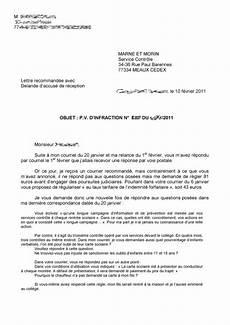 lettre de contestation d amende lettre pour contester une amende de stationnement modele