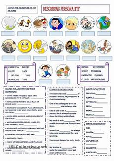 describing s personality worksheets 15903 describing personality esl worksheet of the day by bbubi march 22 2015 lessons