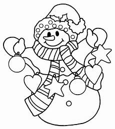 snowman coloring pages part 4