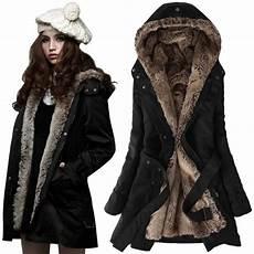 femme epaissir fleece faux fur manteau chaud d hiver