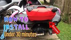 Sea Doo Spark 3up How To Install Linq Base Kit Seadoo
