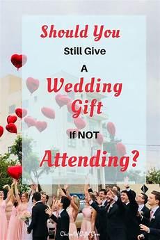 Wedding Gift Etiquette If Not Attending