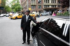 limo driver the business traveller taking a limousine aspiring
