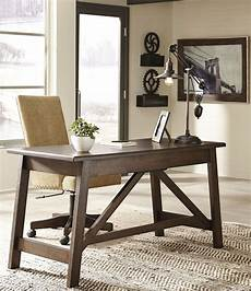 rustic home office furniture baldridge rustic brown home office set from ashley
