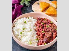 real cajun red beans and sausage_image