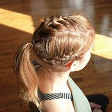 easy gymnastic hairstyles easy hairstyles for the gym how to instructions shape