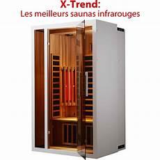 Sauna Infrarouge Prix Un Sauna D Ondes Infrarouges Courtes X Trend Prix