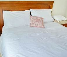double bed sheet cotton white fitted flat pcs superfine percale ebay