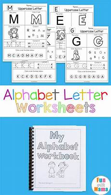 printable alphabet worksheets to turn into a workbook preschool letters printable alphabet