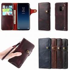 premium flip genuine wallet case cover card slot closure protective stand with for